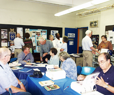 The classes of 1945 and 1946 held a joint reunion in 2008.