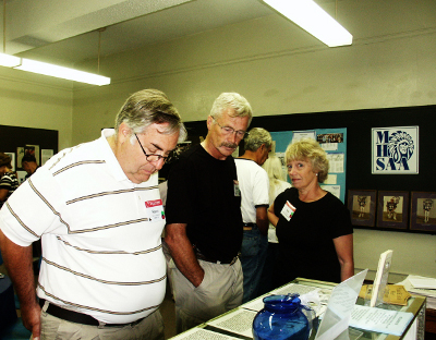 Class of 1964 reunion tour reveals many interesting MHS artifacts donated to the Alumni Center.