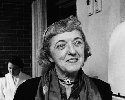 Clementine Paddleford in 1958.